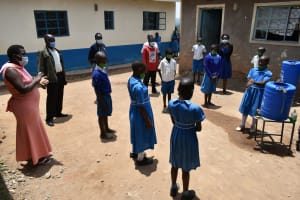 The Water Project: Lwombei Primary School -  Handwashing Training
