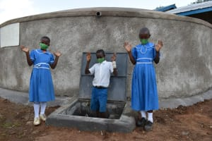 The Water Project: Lwombei Primary School -  High Five