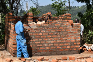 The Water Project: Lwombei Primary School -  Latrine