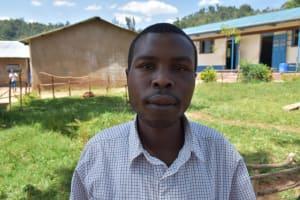 The Water Project: Lwombei Primary School -  Teacher Alexander Shivachi