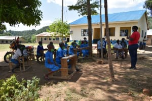 The Water Project: Lwombei Primary School -  Training Session