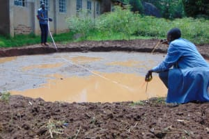 The Water Project: KG Jeptorol Primary School -  Excavation