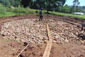 The Water Project: KG Jeptorol Primary School -  Hardcore Filling