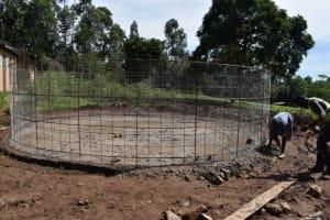 The Water Project: KG Jeptorol Primary School -  Brc Wallsetting