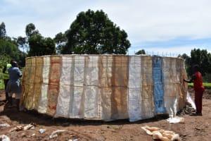 The Water Project: KG Jeptorol Primary School -  Sack Placing