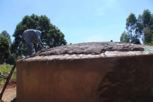 The Water Project: KG Jeptorol Primary School -  Dome Setting