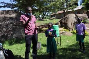 The Water Project: KG Jeptorol Primary School -  Dental Hygiene Demonstration