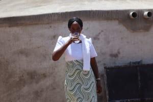 The Water Project: KG Jeptorol Primary School -  Enjoying The Water