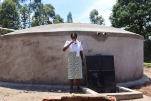 The Water Project: KG Jeptorol Primary School -  Mrs Imali
