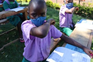The Water Project: KG Jeptorol Primary School -  Sneezing In Elbow Technique
