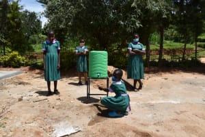 The Water Project: KG Jeptorol Primary School -  Students Handwashing