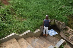 The Water Project: Mahira Community, Wora Spring -  Brian M At The Spring