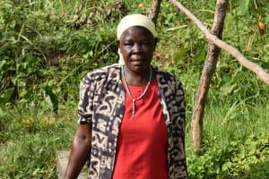The Water Project: Mahira Community, Litinyi Spring -  Agnes Kutondo
