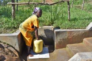 The Water Project: Mukhuyu Community, Chisombe Spring -  Nebo Vuya