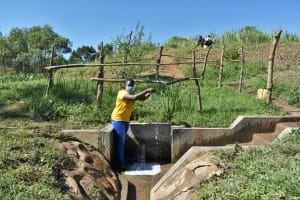 The Water Project: Mukhuyu Community, Chisombe Spring -  Nelly