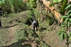 The Water Project: Malekha Central Community, Misiko Spring -  Site Clearance