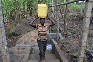 The Water Project: Malekha Central Community, Misiko Spring -  It Was All Smiles At The Spring