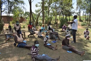 The Water Project: Malekha Central Community, Misiko Spring -  Training In Session