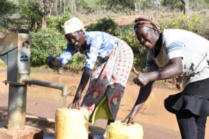 The Water Project: Mbitini Community A -  Thumbs Up