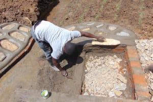 The Water Project: Makhwabuye Community, Majimazuri Lusala Spring -  Staircase Setting