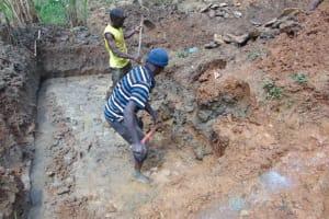 The Water Project: Makhwabuye Community, Majimazuri Lusala Spring -  Excavation