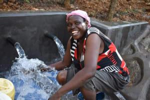 The Water Project: Makhwabuye Community, Majimazuri Lusala Spring -  Clean Water Alas