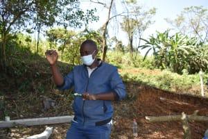 The Water Project: Makhwabuye Community, Majimazuri Lusala Spring -  Trainer Simidi Leading The Dental Hygiene Topic