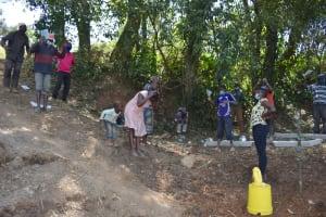 The Water Project: Makhwabuye Community, Majimazuri Lusala Spring -  Training Excercise