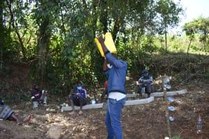 The Water Project: Makhwabuye Community, Majimazuri Lusala Spring -  Water Fecthing Carrying And Storage