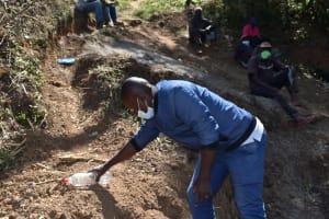 The Water Project: Makhwabuye Community, Majimazuri Lusala Spring -  Water Treatment Through Solar Disinfection Lesson