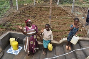The Water Project: Indulusia Community, Wanyama Spring -  Posing At The Spring