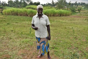 The Water Project: Indulusia Community, Wanyama Spring -  Water User Committee Treasurer Wilbroda Amiru
