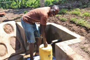 The Water Project: Indulusia Community, Wanyama Spring -  All Smiles