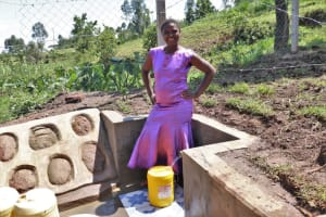The Water Project: Indulusia Community, Wanyama Spring -  Confident With Clean Water