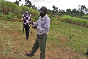 The Water Project: Indulusia Community, Wanyama Spring -  Dental Hygiene Demonstration