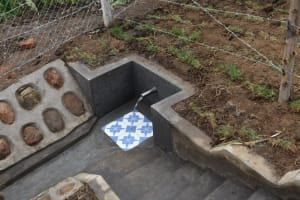 The Water Project: Indulusia Community, Wanyama Spring -  Water Flows At Wanyama Spring