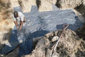 The Water Project: Muyundi Community, Magana Spring -  Foundation Preparation
