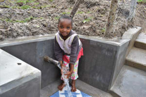 The Water Project: Muyundi Community, Magana Spring -  Excited About Clean Water