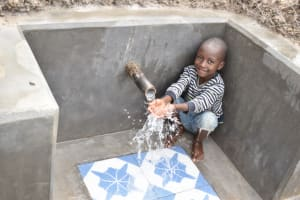The Water Project: Muyundi Community, Magana Spring -  Gift At The Water Source