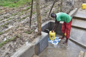The Water Project: Muyundi Community, Magana Spring -  James Is Happy For Clean Water
