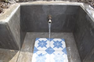 The Water Project: Muyundi Community, Magana Spring -  Clean Water Flowing
