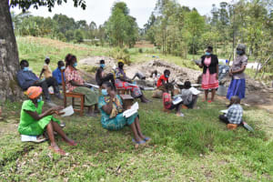 The Water Project: Muyundi Community, Magana Spring -  Discussion On Covid