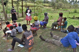 The Water Project: Muyundi Community, Magana Spring -  Discussion On Dental Hygiene
