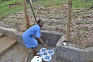 The Water Project: Muyundi Community, Magana Spring -  Mum Gift Playing With Water