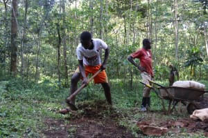 The Water Project: Shamakhokho Community, Wizula Spring -  Initial Site Clearing
