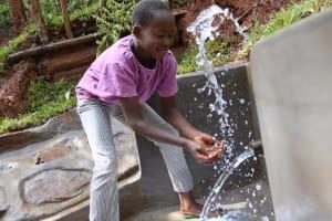 The Water Project: Shamakhokho Community, Wizula Spring -  Faith Makes A Splash