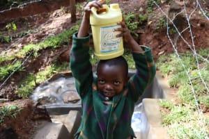 The Water Project: Shamakhokho Community, Wizula Spring -  Balancing Act