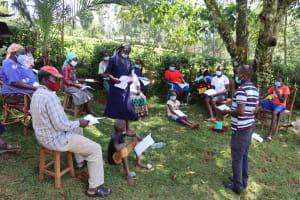 The Water Project: Shamakhokho Community, Wizula Spring -  Primary Health Care Training