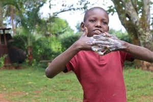 The Water Project: Shamakhokho Community, Wizula Spring -  Ten Steps Of Handwashing