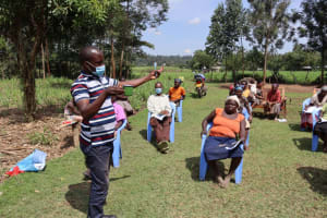 The Water Project: Malekha West Community, Soita Spring -  Dental Hygiene